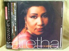 CD/Japan- ARETHA FRANKLIN A Rose Is Still A Rose +1 bonus trk w/OBI RARE 1998 #RBSwingHouse