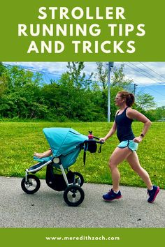A guide to running with a stroller from a not-so-serious mother runner. Loaded with tips, tricks, and funny stories! #running #stroller Running Guide, Get Running, How To Start Running, Running In The Rain, Running Form, Running With Stroller, Baby Girl Strollers, Bob Stroller, Funny Stories