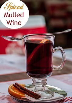 ... Mulled Wine recipe a try! Spiced Mulled Wine is especially popular
