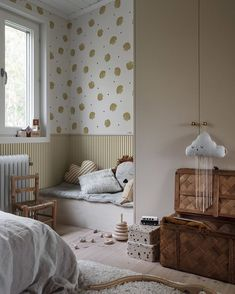 Collection Familj II - A scandinavian home - Recipes Buy Wallpaper Online, Wallpaper Size, Geometric Wallpaper, Wallpaper Samples, Bedroom Wallpaper, Room Interior, Interior Design, Boutique Deco, Maila