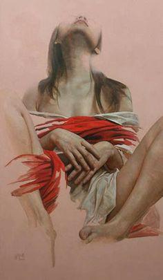 Liu Yuanshou   Chinese Realist Figurative Painter