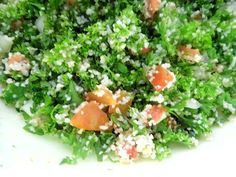 One Mother Hen: Tabouleh Healthy Food Options, Healthy Recipes, Kitchen Recipes, Herbs, Salad, Health Recipes, Healthy Food Recipes, Healthy Eating Recipes, Healthy Cooking Recipes
