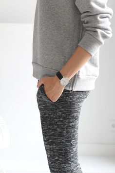 There's something about a watch that adds to even the laziest of outfits.... #greyongrey