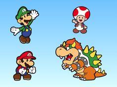 super maro caritors | Super Mario Bros Characters