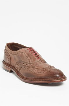 $275, Neumok Oxford Brown Leather 11 D by Allen Edmonds. Sold by Nordstrom. Click for more info: http://lookastic.com/men/shop_items/148062/redirect