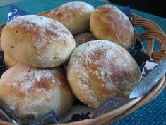 Jogurttisämpylät Russian Piroshki Recipe, Bread Recipes, Cooking Recipes, Finnish Recipes, Homemade Dinner Rolls, Savory Pastry, Good Food, Yummy Food, Recipes From Heaven