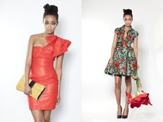 "Designer Phyllis Taylor of Ghanaian fashion brand Sika featured on Italian Vogue's ""Vogue Black"""