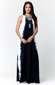 Sidewinder Tie-Dye Maxi Dress
