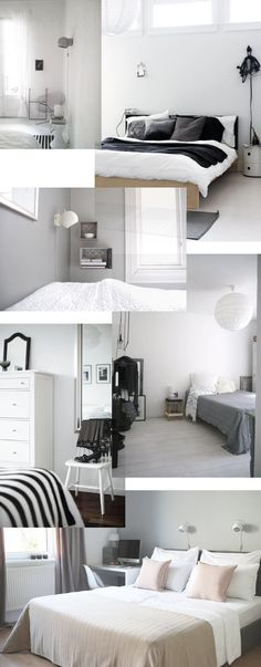 Grey bedroom inspiration - Stylizimo blog