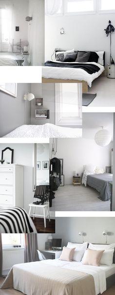 Grey bedroom inspiration - Stylizimo blog