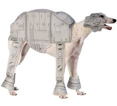 Pet Dog Cat Star Wars At-At Halloween Fancy Dress Costume Outfit Clothes S-XL