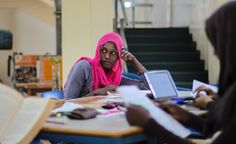 """""""Leaving half the population out of the professional workforce kept our society behind in terms of social, political and economic development. Empowering women is not just a matter of social justice, but of economic necessity."""" English Instructor Paul Swaga shares Akilah's education model on @allarfrica"""