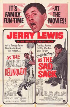 The Delicate Delinquent / The Sad Sack
