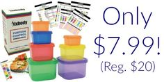 21 Day Fix Portion Control Containers Only $7.99 (Reg. $20)!