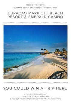 Marriott Resorts Ultimate Beach Bag Pinterest Sweepstakes