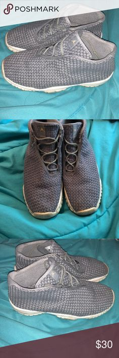 c3482fc181d Grey Jordan Futures In okay condition