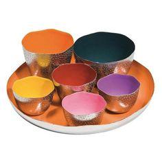 Set of 7 Tray and Bowls