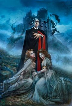 Dracula and his brides by Greg Staples
