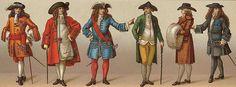 La moda en el tiempo... — TAFETANES Y ENCAJES EN EL BARROCO Y ROCOCO