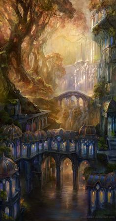 ... if Heaven is a place of our own making - I want mine to be like Rivendell  :)