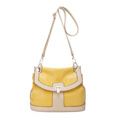 Yellow Rachael Series Elegant Tote-Bag