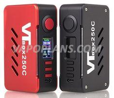 Box 200w Vapecige VTBox DNA250C - 76€ fdp in vapoplans.com Nintendo Switch, Logos, Logo