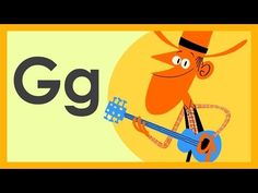 """""""The Letter G Song"""" by ABCmouse.com - YouTube"""