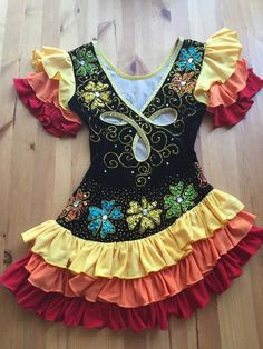 flamenco ice skating dress - Google Search