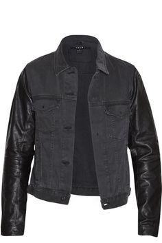 Ksubi | Wild Dog Leather/Denim Jacket