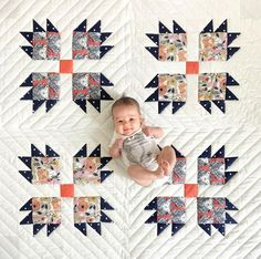 bear claw baby quilt