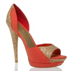 Love but this heel is a little too much for me