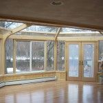 Why is Argon used between the sheets of glass on most of the better grade insulating glass? Between The Sheets, Extruded Aluminum, Good Grades, Wood Laminate, Natural Wood, Design Inspiration, Windows, Sunrooms, Building