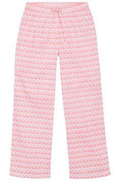 <b>Produktbeschreibung</b> <br />   Pyjamahose mit FLAMINGO-Muster - einfach toll! Sehr weich und angenehm. Schlupfform mit Rundum-Gummibund und Tunnelzug mit Bindeband. Lange, gerade Form. <br />    <br />    <b>Bei Studio Untold findet die Ulla Popken Kundin junge, trendige Mode, die Ihre Kurven betont und gekonnt in Szene setzt. Mit dieser neuen körperbetonten Passform und den modischen Highlights wirst du bei jeder Gelegenheit glänzen und modische Trends setzen. </b> <br />    <br />