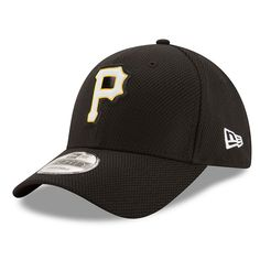 Adult New Era Pittsburgh Pirates 9FORTY Bevel Logo Adjustable Cap, Ovrfl Oth