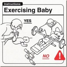 """Exercising Baby - 28 """"Must Know"""" Baby Tips"""