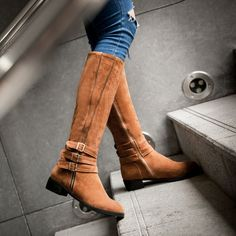 Only at Shoesofexception - Knee High - Suzy $55.99   #trendy #boots #womensfashion #shoes #elegant #casual #pumps #women