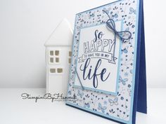 Pootlers Blog Hop | Welcome to Spring Summer with Stampin' Up! Craft Room Shelves, Diy Paper, Paper Crafts, Masculine Birthday Cards, Heartfelt Creations, Homemade Cards, Stampin Up Cards, Cardmaking, Craft Supplies