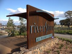 GRDC | Riverstone Estate Entry Sign