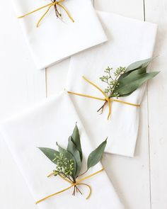 Eucalyptus Thanksgiving Placesetting  alice & lois