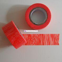 Washi Tape - FF Rust Woodgrain - Washi & Masking Tape - Heidis Kreative Hule