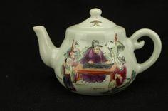 Chinese porcelain Tea pot ; Tong Zhi