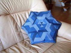 Love this denim cushion!