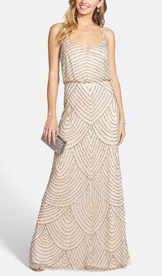 embellished gown @nordstrom