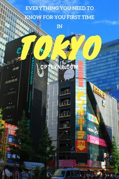 Tokyo ultimate travel guide. Everything you need to know for your first time in the beautiful city of Tokyo, Japan. | What to Do In Tokyo | What to Eat In Tokyo | What to See In Tokyo | Tokyo Tips | Top things to do in Tokyo | JR PASS #travel #japan #travel #wanderlust #asia