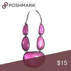 🌷 Purple Resin Shell Necklace 🌷 Macy's, Purple Shell Necklace Macy's Jewelry Necklaces
