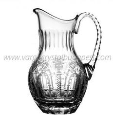 Athens Clear Water Pitcher 565€ Whiskey Decanter, Water Pitchers, Luxury Candles, Athens, Budapest, Candle Holders, Things To Come, Collections, Vase