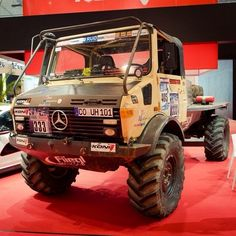 The answer is always: Because Unimog. c/o @Jan Gleitsmann #mercedes #benz #instacar