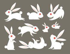 Bunnies by Katie Kirk, via Flickr