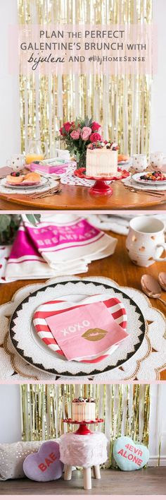 Bijuleni: Valentine's Day is the perfect opportunity to let your BFFs know how special they are! How to plan the perfect Galentine's Day brunch with #MyHomeSense, complete with darling decor, tasty treats and loads of laughter!