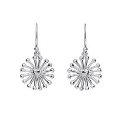 A minimalistic adaptation of a sunrise, these beautifully designed 'Sunrise' earrings are the perfect unique addition to your jewellery collection. They are fitted with conventional hook backs for pierced ears. Silver Earrings, Dangle Earrings, Silver Dip, Everyday Items, Deodorant, Precious Metals, Sale Items, Ear Piercings, Silver Color